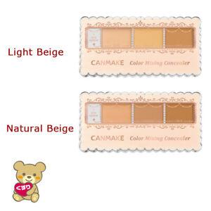☀CANMAKE Tokyo Color Mixing Concealer Light Beige, Natural Beige 3.9g From Japan