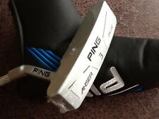 """Ping Anser blanchi série NO.3 Putter 35"""" Club De Golf-Main Gauche"""