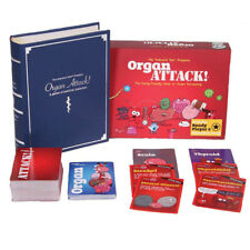 Organ ATTACK! Family Friendly Funny Board Card Game NEW Toys Gifts