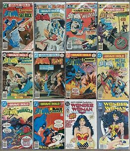 DC Comics Bronze Age Lot - Batman Brave and the Bold 123 127 129 131 Special 8