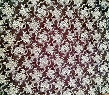 Springs Creative Cp53079 French Rooster Lace Floral 44 x 66 Cotton Fabric