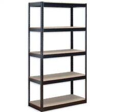 5 niveau lourd enclenchable étagère métallique étagères étagère de stockage étagère de garage maison bureau uk