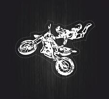 Adesivi adesivo sticker moto auto biker tuning skull teschio motocross r3