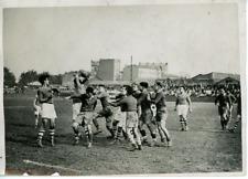 France Paris Match De Rugby Stade Français- Red Star Vintage Print Tirage arge