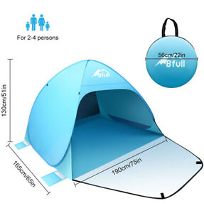 Bfull Large Pop Up Beach Fishing Camping Garden Tent Shelter UV 50 Protection UK