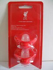 Liverpool FC Schnuller Silikon 2er Set ab 3 Monate Pacifier Sauger Nuckel rot