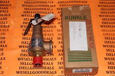 "Kunkle 6010EDM01-KM Bronze Safety Relief Valve 3/4"" Inlet, 1"" Outlet 100 New"