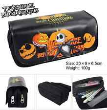 The Nightmare Before Christmas Makeup Brush Bag Case Pen Pencil Pouch Purse