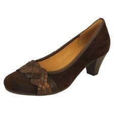 Calzado de mujer zapatos de salón de color principal marrón Talla 39