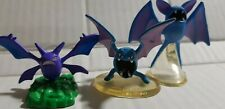 "Vintage  Pokemon Auldey TOMY Toy Figure 2"" GOLBAT,ZUBAT AND CROBAT FREESHIP!"