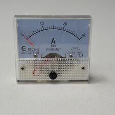 85C1 DC 30A Analog Ampere Current AMP Panel Meter Ammeter Gauge 0-30A
