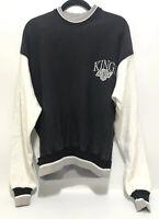 Vintage Los Angeles Kings Hockey Sweatshirt Size XL NHL Official Black White
