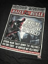 Loot Crate DX Exclusive - Spider-Man Long Sleeve T-Shirt L Large - Daily Bugle