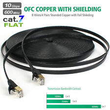 ALL-Copper 30m Cat 7 Ethernet Cable LAN Cable Modem Router Network Patch Cable