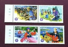 IRELAND 2002 - SCOUTING ANNIVERSARY STAMP SET(IN PAIRS) - MINT NEVER HINGED
