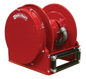 """REELCRAFT FSD14005 OLP 1"""" X 50' 500 psi Ultimate Duty Hose Reel for Fuel no Hose"""