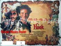 Hook 1991 Repro Reproduction Print pirate