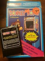 DONKEY KONG - INTELLIVISION - COMPLETE W/ MANUAL - FREE S/H - (B18A)