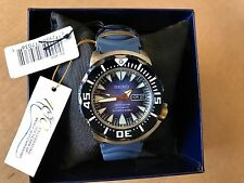 Seiko Monster Automatic SRP455 Limited Edition Men's Diver Watch 200m Blue Dial