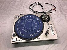 TECHNICS SL-1200MK2 1200 DIRECT DRIVE DJ TURNTABLE HEAVILY USED NO DUST COVER