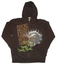 DRAVEN Hooded top / Zip Up Hoody - Large - ROCKING OUT AT EVERY SHOW