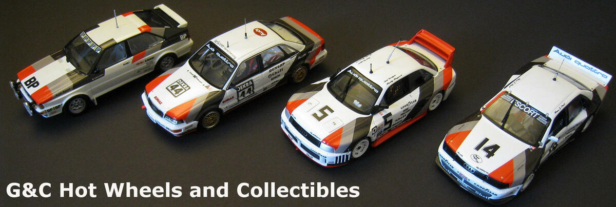G&C hot wheels and collectibles