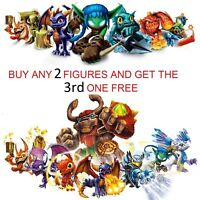 Skylanders Figures from Spyro's Adventure, Giants, Swap Force & Trap Team