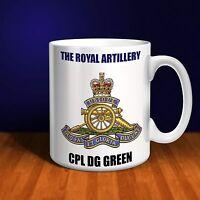 The Royal Artillery Personalised Ceramic Mug Gift