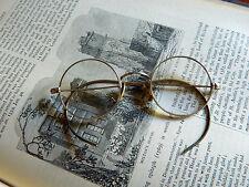 RARE SHURON 12K Gold Filled Vintage Eyeglasses Original Case
