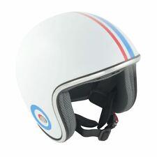 GSB Open Face Motorcycle Helmet Mod Vespa Lambretta S-XL