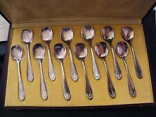 Cuillères à Glace en Argent Plaqué  Silver Silber
