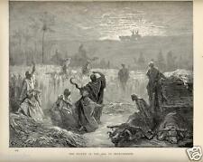 Stampa Antica = 1880= BIBBIA= RITORNO DELL'ARCA A BETH-SHEMESH = di G. DORE'