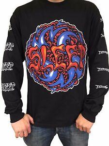 "Sleep ""Logo"" Long Sleeve T Shirt - OFFICIAL holy mountain dopesmoker"