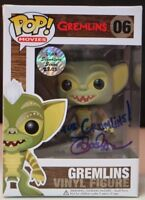 Funko POP Movies Gremlins Vinyl Figure Mark Dodson SIGNED LOT B