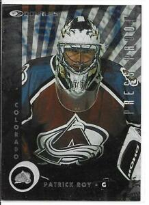 97-98 Donruss Press Proof Patrick Roy Parallel Card /2000