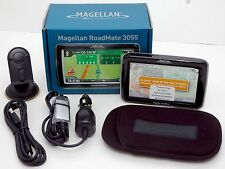 NEW Magellan Roadmate 3055T-LM Car GPS Navigator System LIFETIME MAPS & TRAFFIC