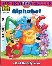 School Zone Alphabet Get Ready Book + FREE SHIPPING