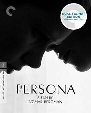 Persona (Blu-ray/DVD, 2-Disc Set, Criterion Collection) Excellent Condition!!!!!