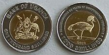 Uganda 1000 Shillings 2012 p278 unz.
