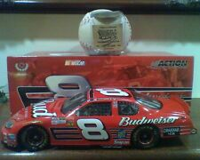 Dale Earnhardt Jr 2003 #8 Budweiser 1/24 1:24 Action with Medallion New in Box