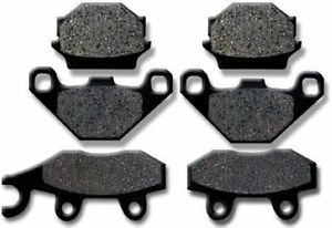 BOMBARDIER Front + Rear Brake Pads Rally 200 (05-07)