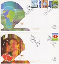 FDC  Ned.Collectie 15 blanco FDCs jaar 2005.NVPH nr.E509-E522 Cw. €106,-. Lees!