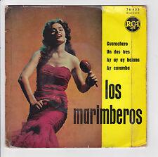 """LOS MARIMBEROS Vinyle 45 tours EP 7"""" GUARACHERO - AY AY AY BAIANA - RCA 76.405"""