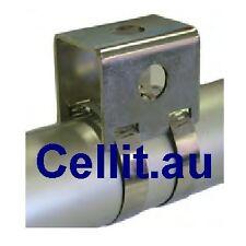 BULLBAR BRACKET STAINLESS 40-70mm. FOR MOBILE CB UHF ANTENNA/AERIAL SPOT LIGHTS