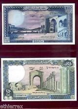 LIBANO (1988) 100-250 Livres-FDS./UNC.