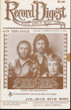 Record Digest Music World New Vol. 1 No.15  April 15,1978 Only 200 Pressed Mag