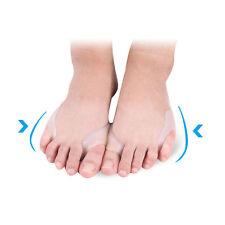 1Pair Foot Silicone Gel Toe Separator Straightener Bunion Protector Pain Relief