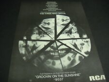 Three Ring Circus are Groovin' On The Sunshine original 1968 Promo Poster Ad