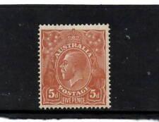 Australian KGV 5d Mint - (GY14)