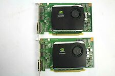 Dell nVidia Quadro FX580 512MB GDDR3 DVI Display Port Graphics Cards (Set of 2)